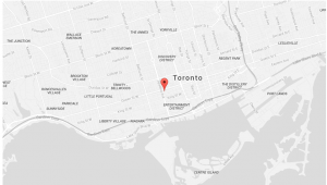 head office map queen and bathurst location