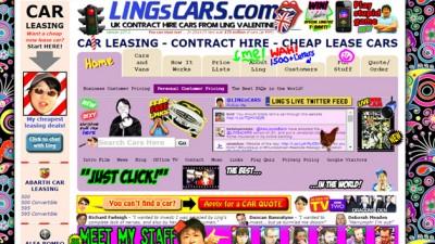 Ugliest Website Design