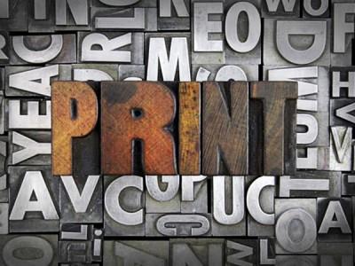 Is Print Dead