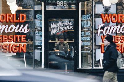 Store Custom Design Signage