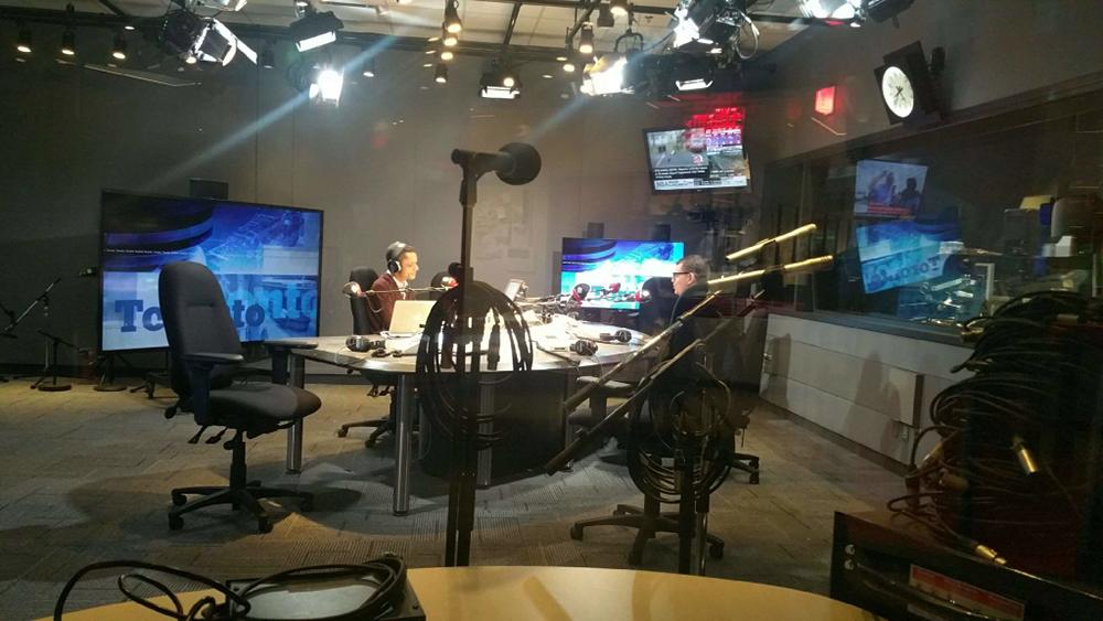 Chris Hughes on CBC Metro Morning