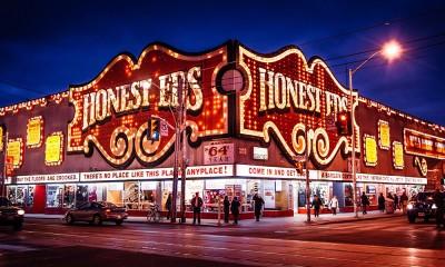 Honest Ed's Store Signage