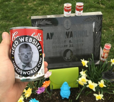 Andy Warhol Grave in Pittsburgh