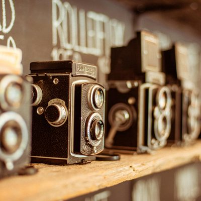 Camera Collection on Display in Toronto