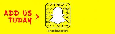 Add us on SnapChat