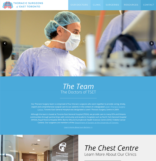 website-design-thoracic-surgeons