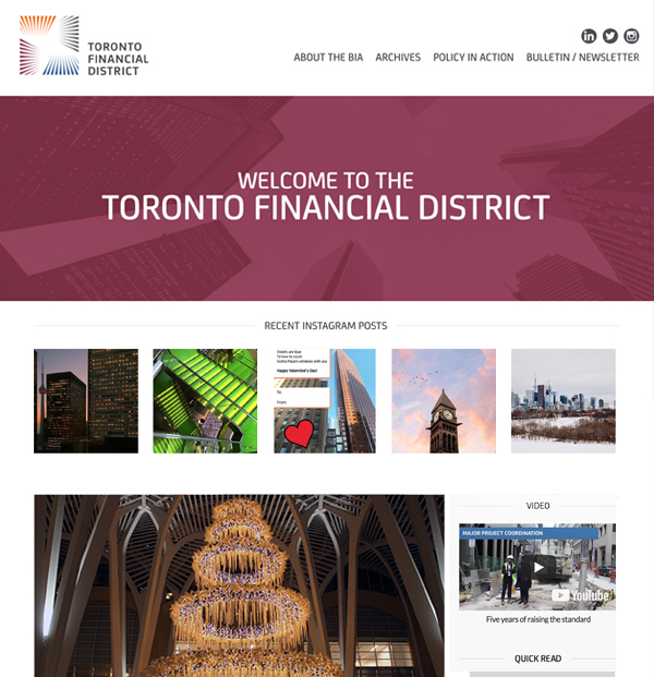 website-design-toronto-financial