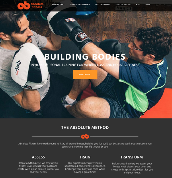 website-portfolio-absolute-fitness