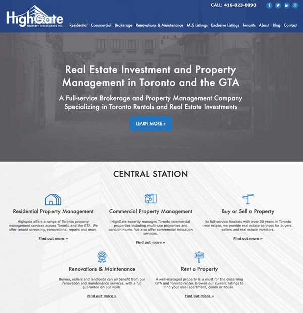 website-portfolio-high-gate