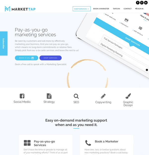website-portfolio-market