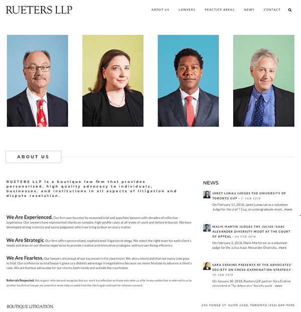 website-portfolio-rueters-llp